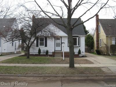 Dearborn Single Family Home For Sale: 22745 Madison Street