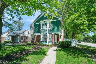 Birmingham MI Single Family Home For Sale: $526,900