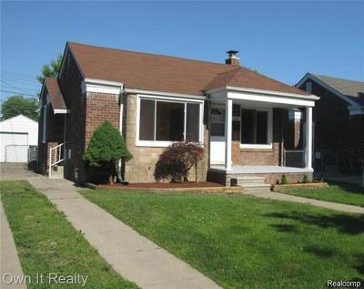 Dearborn Single Family Home For Sale: 3745 Roosevelt Street