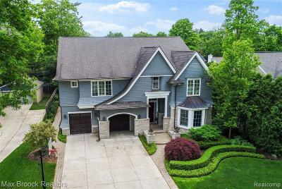 Birmingham MI Single Family Home For Sale: $1,749,000