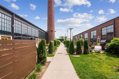 Detroit Condo/Townhouse For Sale: 3434 Russell Street #105