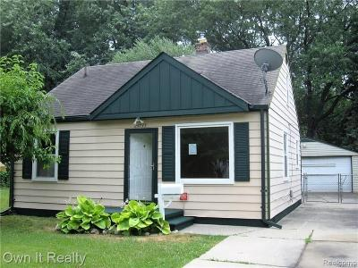 Dearborn Heights Single Family Home For Sale: 24735 Hopkins Street