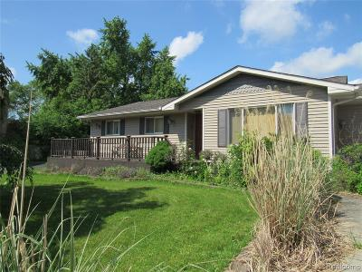 Single Family Home For Sale: 4452 Sulgrave Drive