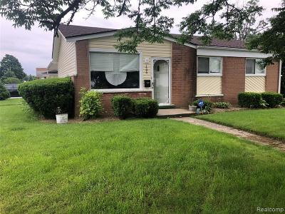 Oakland County Single Family Home For Sale: 206 Gage Street
