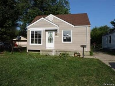 Eastpointe Single Family Home For Sale: 22344 Firwood Avenue