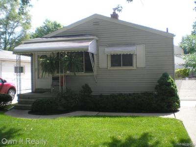 Dearborn Heights Single Family Home For Sale: 4187 Weddell Street