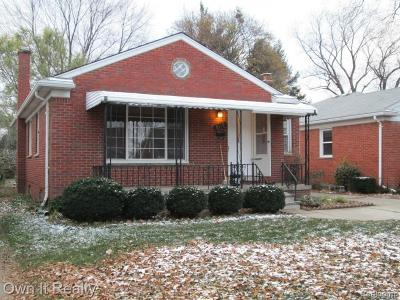 Dearborn Heights Single Family Home For Sale: 8139 Riverdale Street