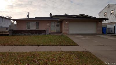 Dearborn Heights Single Family Home For Sale: 27149 Cecile St
