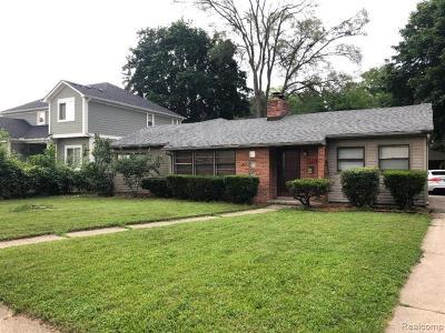 Ferndale,  Royal Oak, Berkley Single Family Home For Sale: 1922 Westgate Avenue