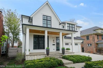 Birmingham Single Family Home For Sale: 1015 S Bates Street