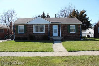 Southgate Single Family Home For Sale: 14646 Trenton Road