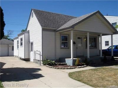 Southgate Single Family Home For Sale: 13323 Kerr Street