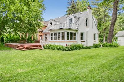 St Clair Shores, Roseville, Harrison Twp, Fraser Single Family Home For Sale: 28800 Old North River Road