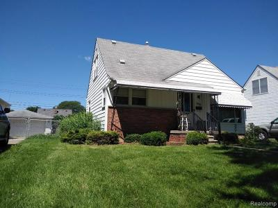 Plymouth Twp, Canton Twp, Livonia, Garden City, Westland Single Family Home For Sale: 7033 Cardwell