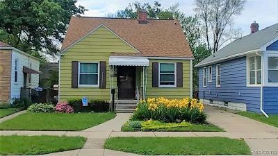 Ferndale, Royal Oak, Berkley Single Family Home For Sale: 346 Fielding Street