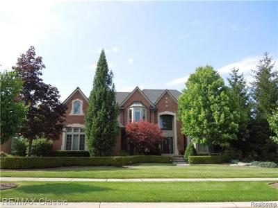 NOVI Single Family Home For Sale: 22011 Picadilly Circle