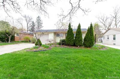 Birmingham, Bloomfield Hills Single Family Home For Sale: 2355 W Lincoln Street