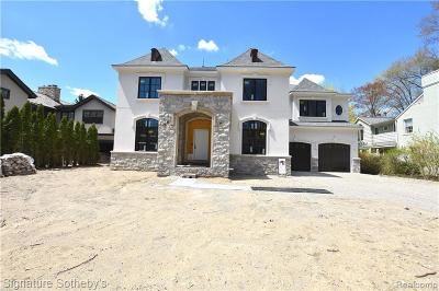 Birmingham Single Family Home For Sale: 271 Fairfax Street