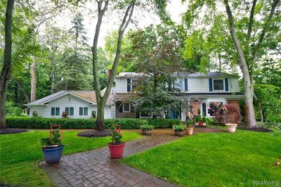 NORTHVILLE Single Family Home For Sale: 46126 Pickford Court