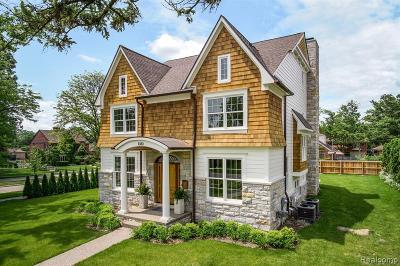 Birmingham MI Single Family Home For Sale: $1,595,000