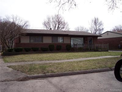 Plymouth Twp, Canton Twp, Livonia, Garden City, Westland Single Family Home For Sale: 157 S Dobson Street