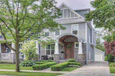 Birmingham MI Single Family Home For Sale: $785,000