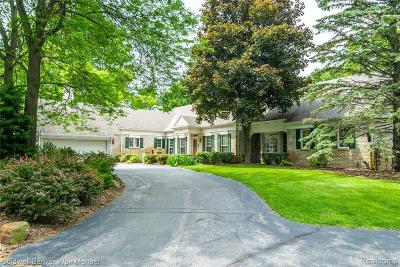 Lake Orion, Orion Twp, Clarkston, Independence Twp, Oxford Single Family Home For Sale: 241 Menasha Trail