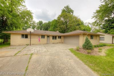 Southfield Single Family Home For Sale: 23620 Oliver Court