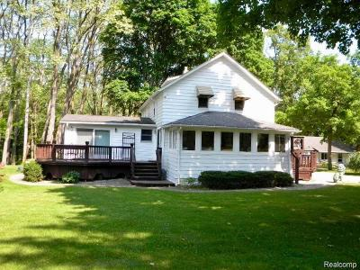 Commerce, Commerce Township, Commerce Twp Single Family Home For Sale: 3980 Benstein Road