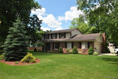 Grosse Ile Twp Single Family Home For Sale: 26026 Martin Lane