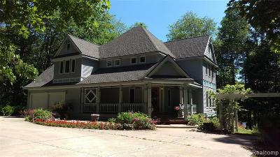 Milford Twp Single Family Home For Sale: 2945 Trilogy Road