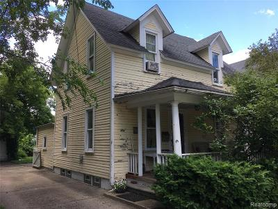 Dearborn Single Family Home For Sale: 824 Mason Street