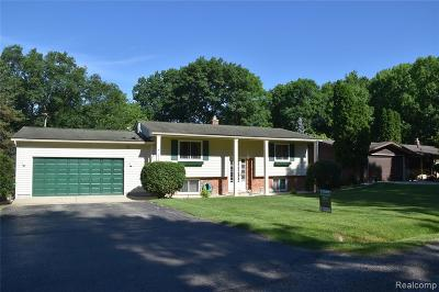 Waterford, Waterford Twp Single Family Home For Sale: 2105 Highfield Road