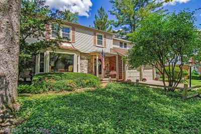 Royal Oak Single Family Home For Sale: 2728 Glenwood Road