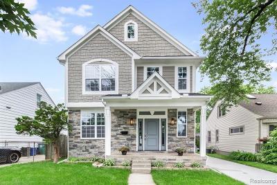 Royal Oak Single Family Home For Sale: 3418 Starr Road