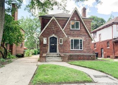 Wayne County Single Family Home For Sale: 17511 Monica Street