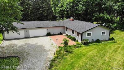 Oakland County Single Family Home For Sale: 3150 Groveland Road