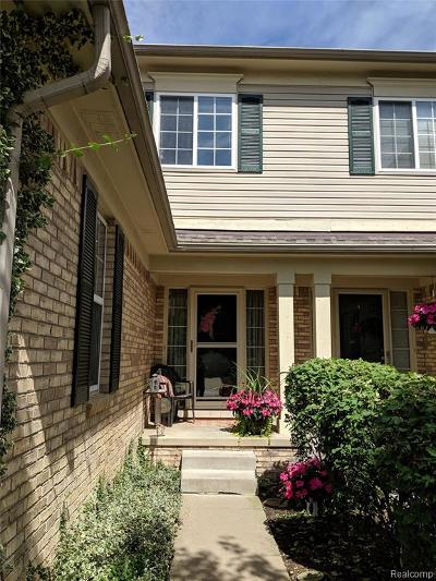 Huron Twp Condo/Townhouse For Sale: 29663 Reed Drive