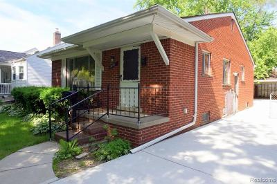 Dearborn Single Family Home For Sale: 3451 Alice Street