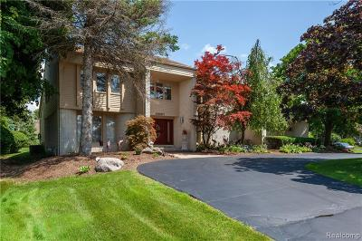 West Bloomfield, West Bloomfield Twp Single Family Home For Sale: 4951 Champlain Circle