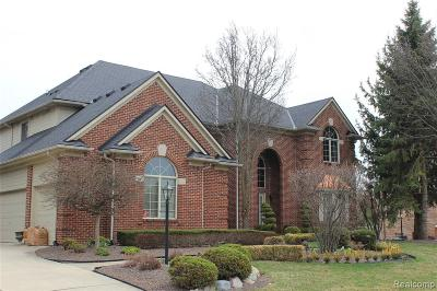 Single Family Home For Sale: 47043 Timberwood Drive