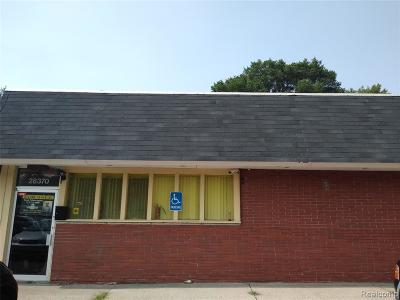 Livonia Commercial For Sale: 28370 Joy Road