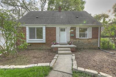 Ferndale,  Royal Oak,  Berkley,  Clawson, Huntington Woods, Pleasane Ridge, Madison Heights Single Family Home For Sale: 4317 Olivia Avenue
