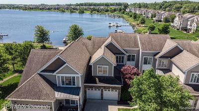 Novi Condo/Townhouse For Sale: 25846 Island Lake Drive