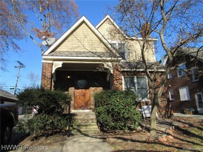 Royal Oak Multi Family Home For Sale: 921 Gardenia Avenue