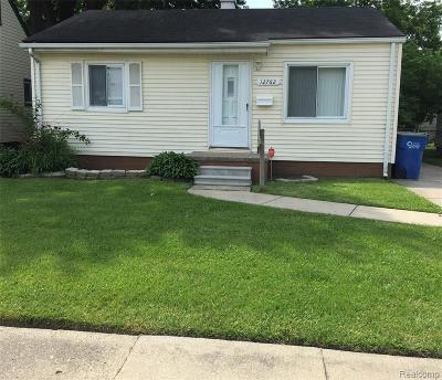 Warren Single Family Home For Sale: 12762 Sherman Avenue
