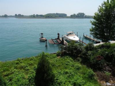 Grosse Ile, Gross Ile, Grosse Ile Twp Residential Lots & Land For Sale: 2 Boat Well East River Wells E