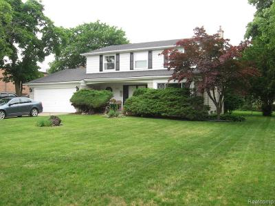 Garden City, Plymouth, Canton Twp, Livonia Single Family Home For Sale: 33000 6 Mile Road