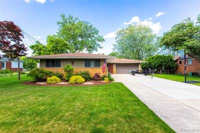 Grosse Ile Twp Single Family Home For Sale: 28635 Swan Island