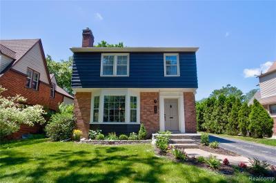 Royal Oak Single Family Home For Sale: 2229 Woodland Avenue